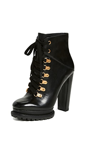 Photo of  alice + olivia Jesna Boots- shop alice + olivia Boots, Flat online sales