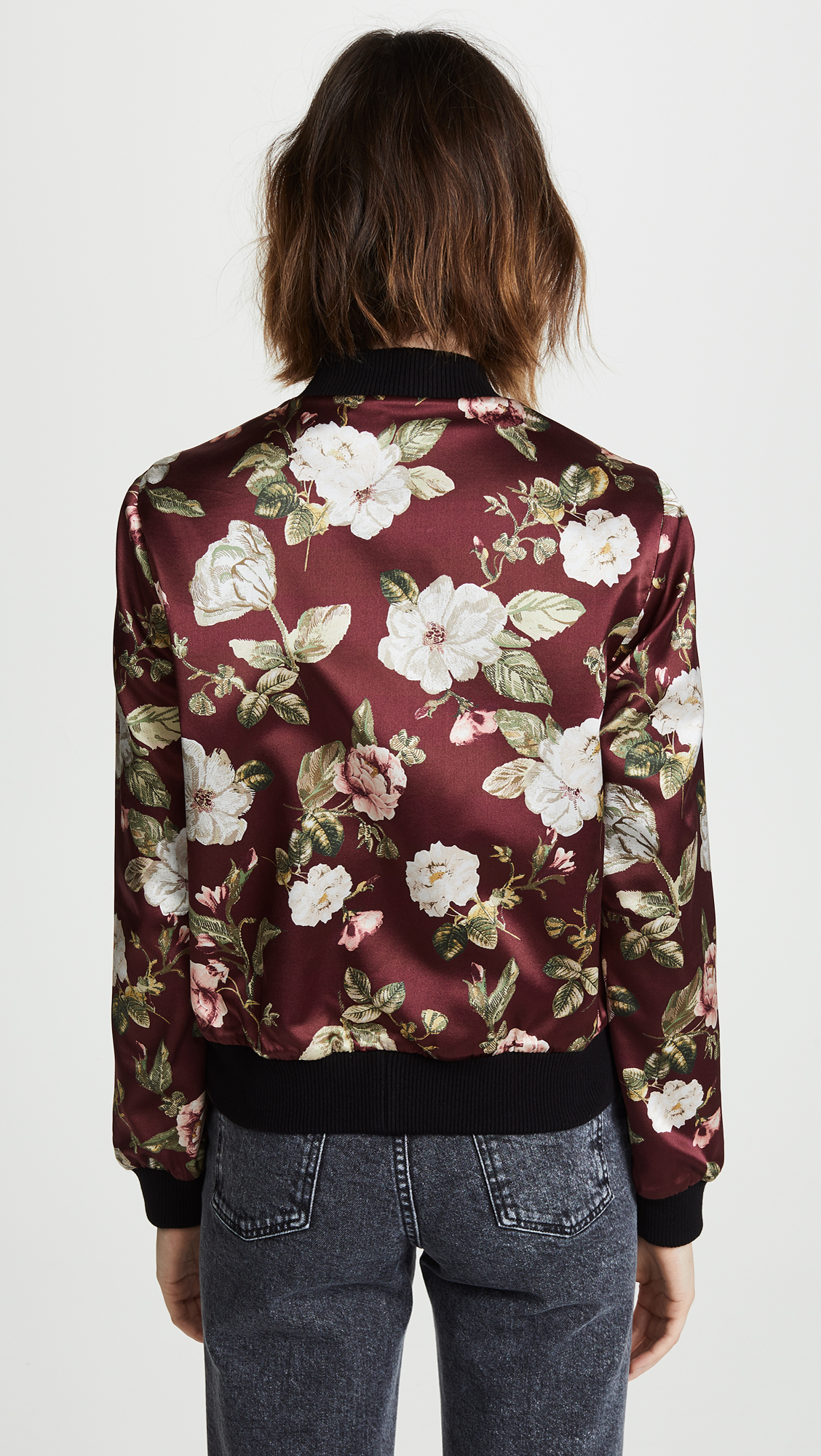 d290928f449f alice + olivia Lonnie Reversible Bomber Jacket | SHOPBOP