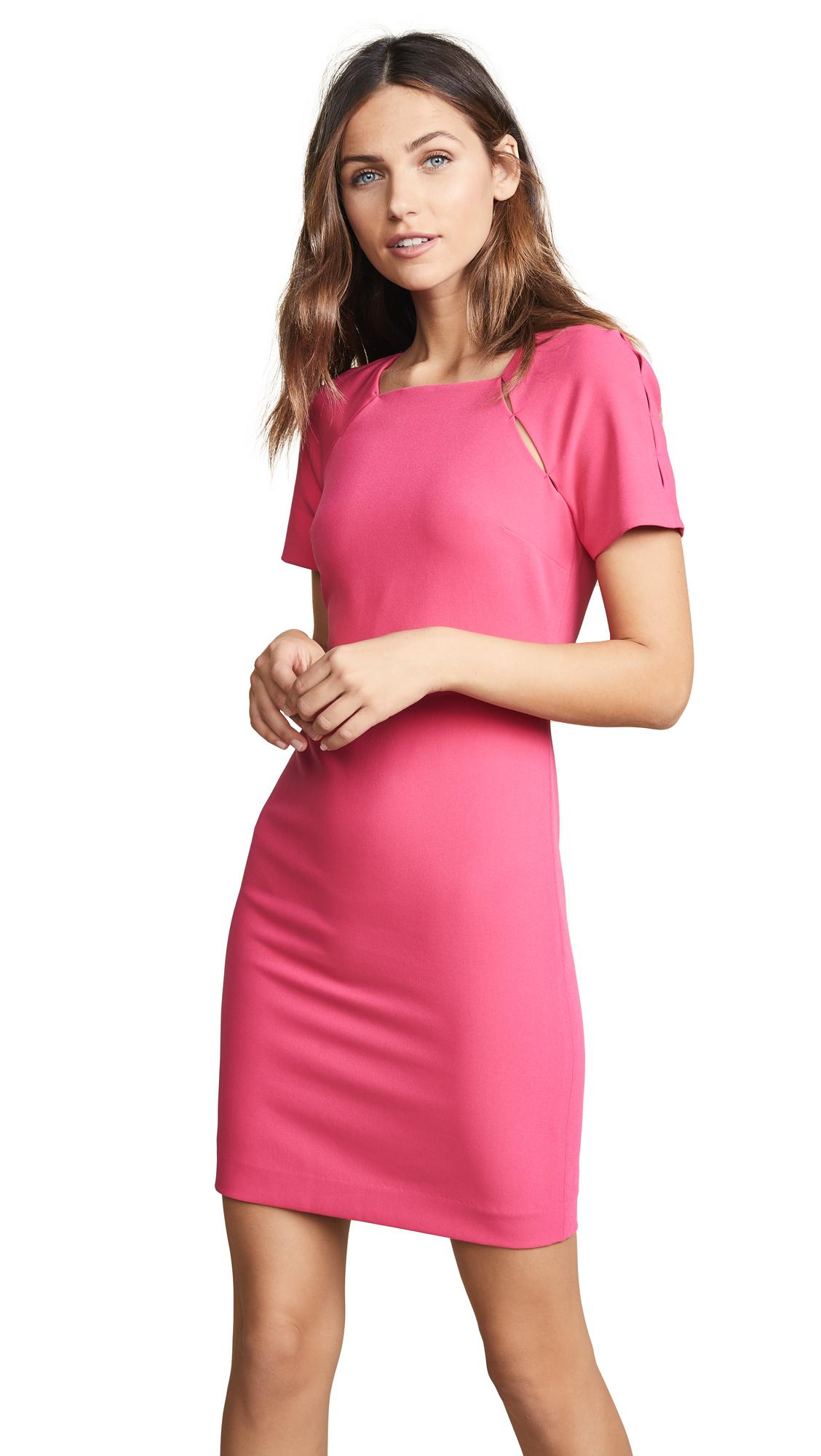 alice + olivia Kristina Fitted Dress