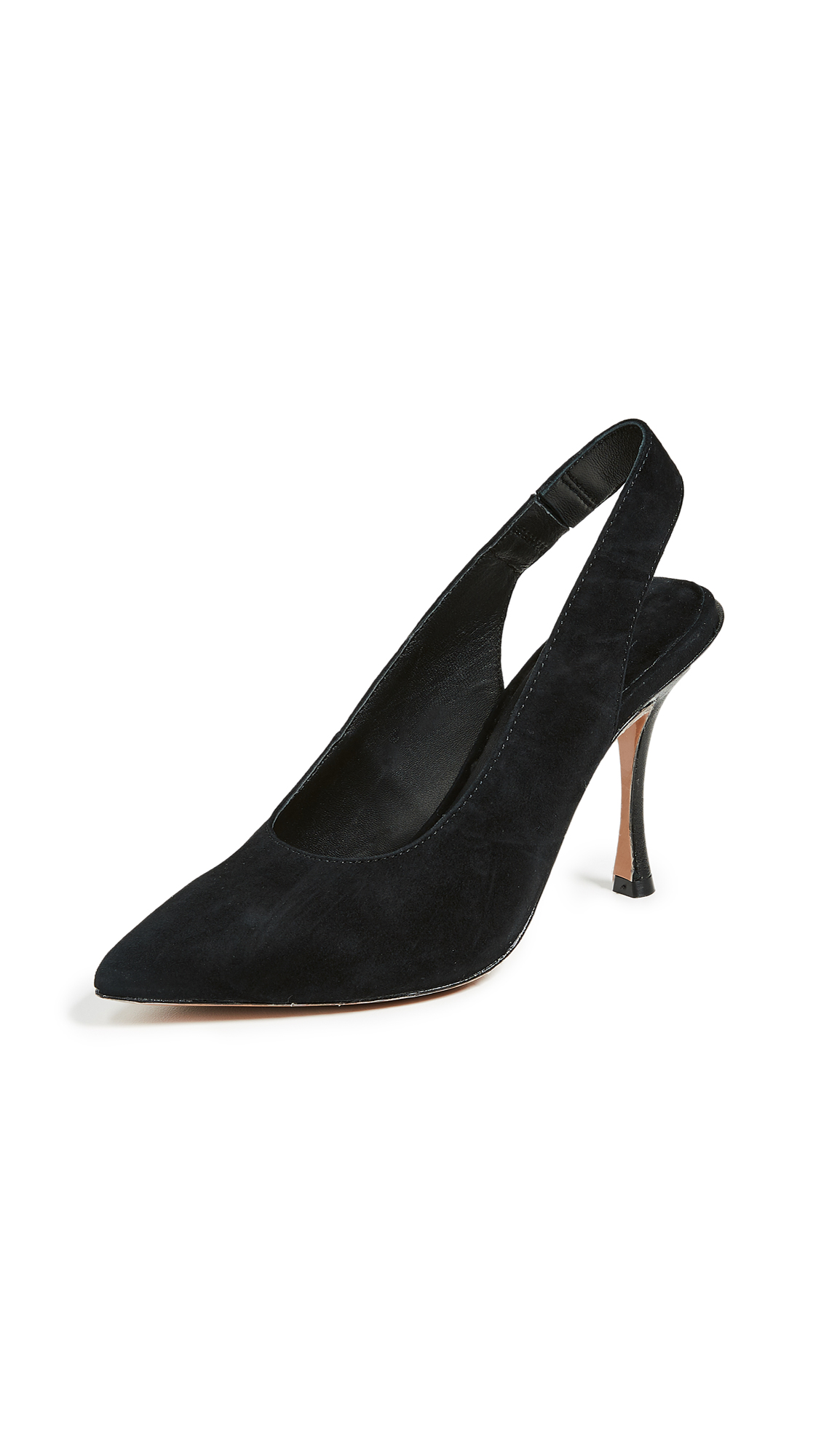 alice + olivia Innet Slingback Pumps - Black