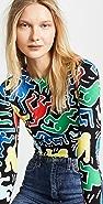 alice + olivia Keith Haring Delaina 短款上衣