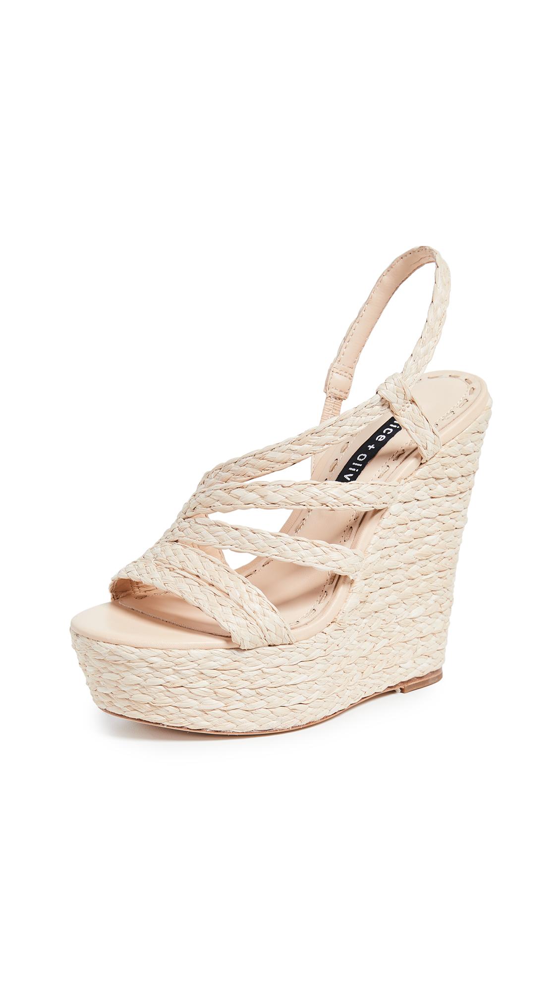 Buy alice + olivia Tenley Platform Sandals online, shop alice + olivia