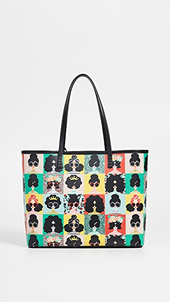 ALICE AND OLIVIA Veronica Staceface Photo Booth Small Tote