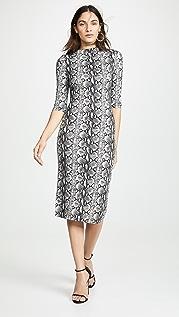 alice + olivia Приталенное платье Delora