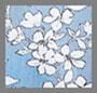 Cornflower/White