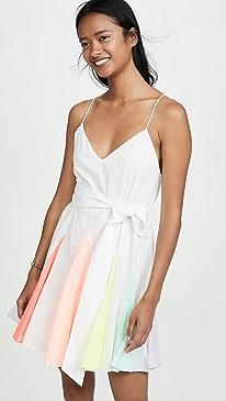 5fd60bf381a alice + olivia. Kimmy Short Godet Dress