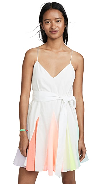 alice + olivia Kimmy Short Godet Dress