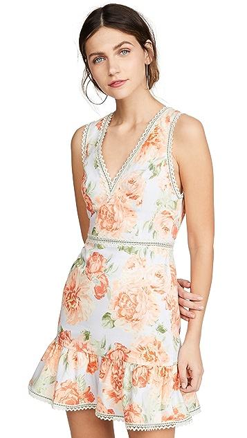 Photo of  alice + olivia Kirean V Neck Dress - shop alice + olivia dresses online sales