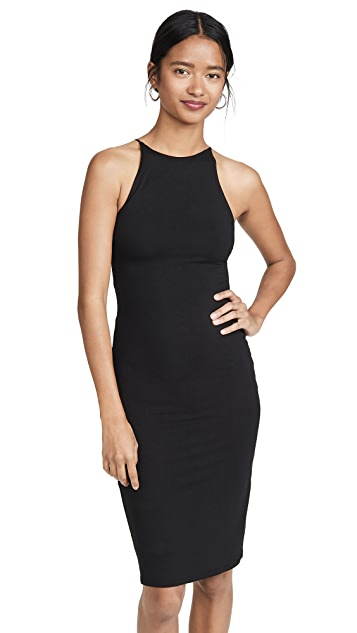 alice + olivia Delora Spaghetti Strap Fitted Dress
