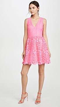 c00949bf67de alice + olivia. Iris Gathered Dress