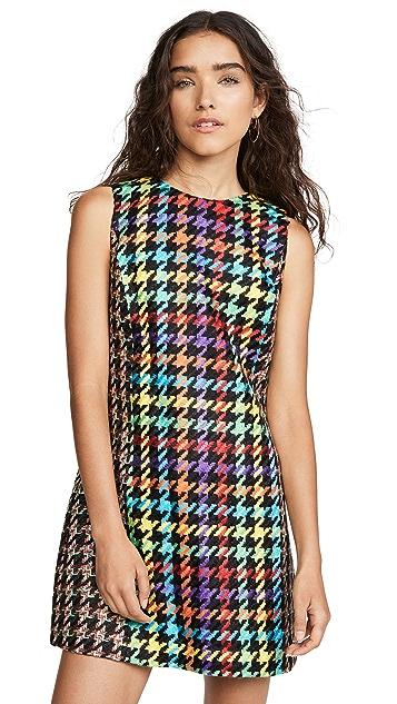 Photo of  alice + olivia Coley Crew Neck Dress - shop alice + olivia dresses online sales