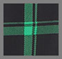 Medium Plaid Black/Emerald