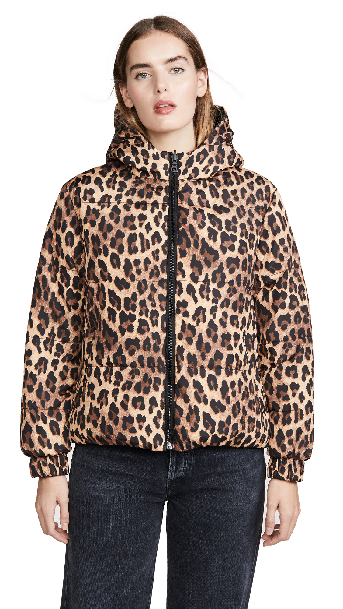 Buy alice + olivia online - photo of alice + olivia Durham PR Reversible Hooded Puffer Coat