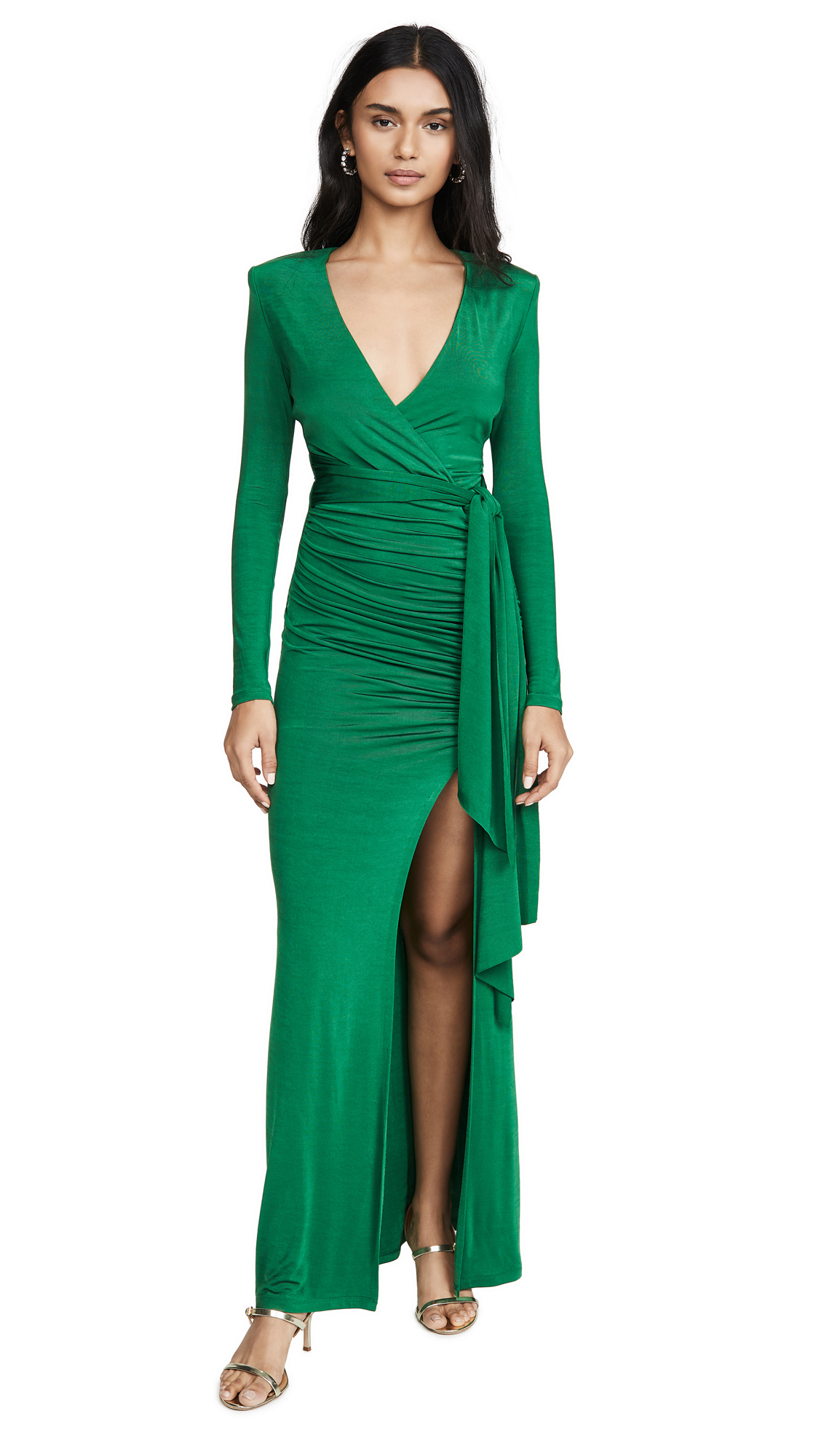 Buy alice + olivia Kyra Deep V Drapey Maxi Dress online beautiful alice + olivia Dresses, Strapless