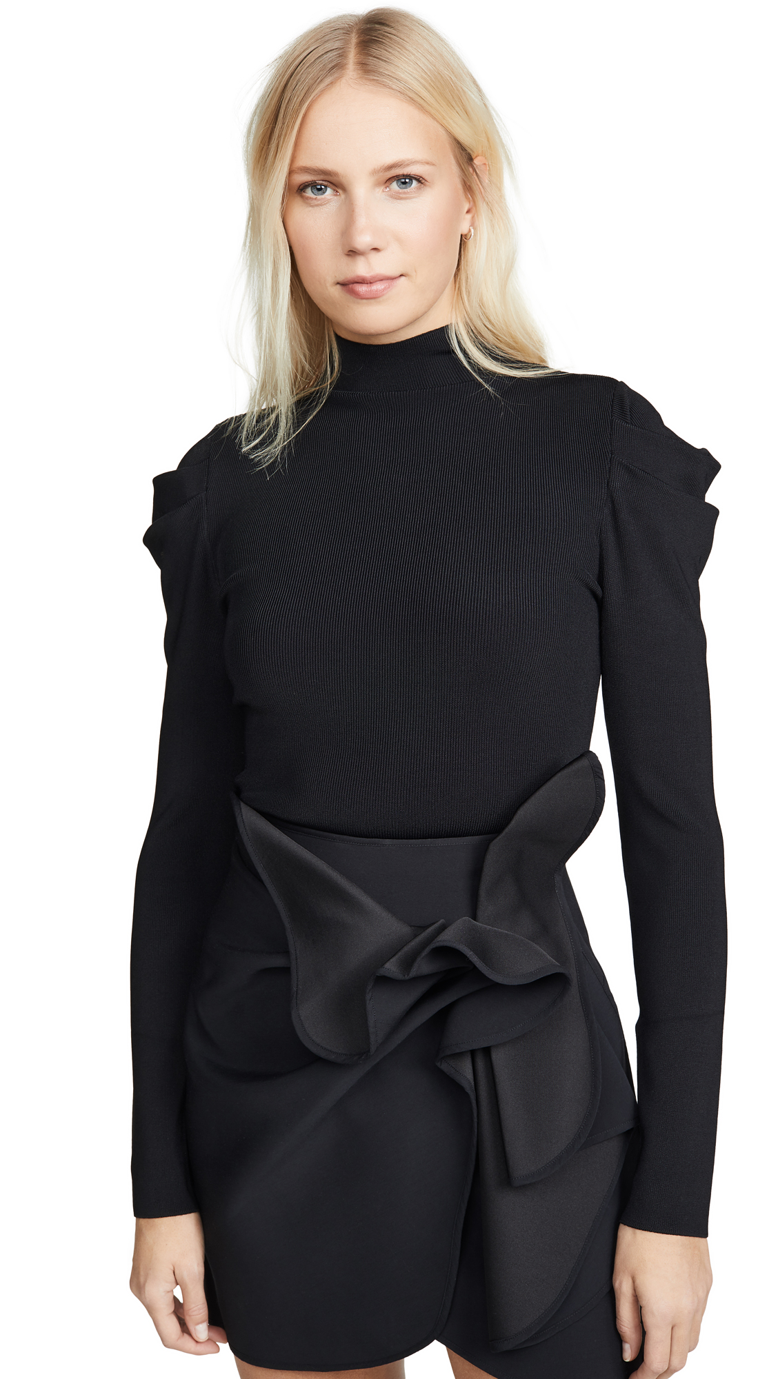 Buy alice + olivia online - photo of alice + olivia Cece Dramatic Puff Sleeve Pullover