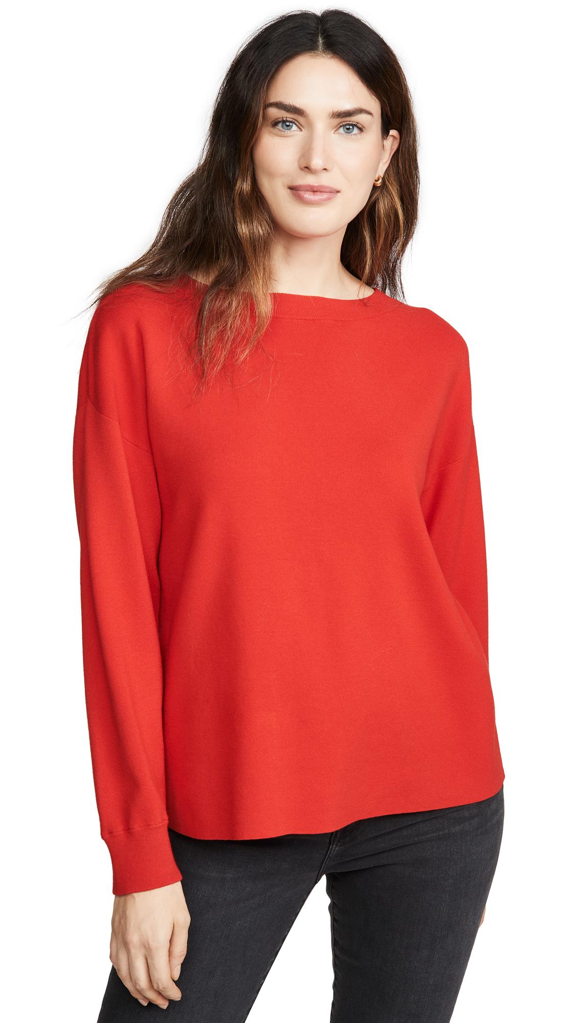Buy alice + olivia online - photo of alice + olivia Ruela Split Back Sweater