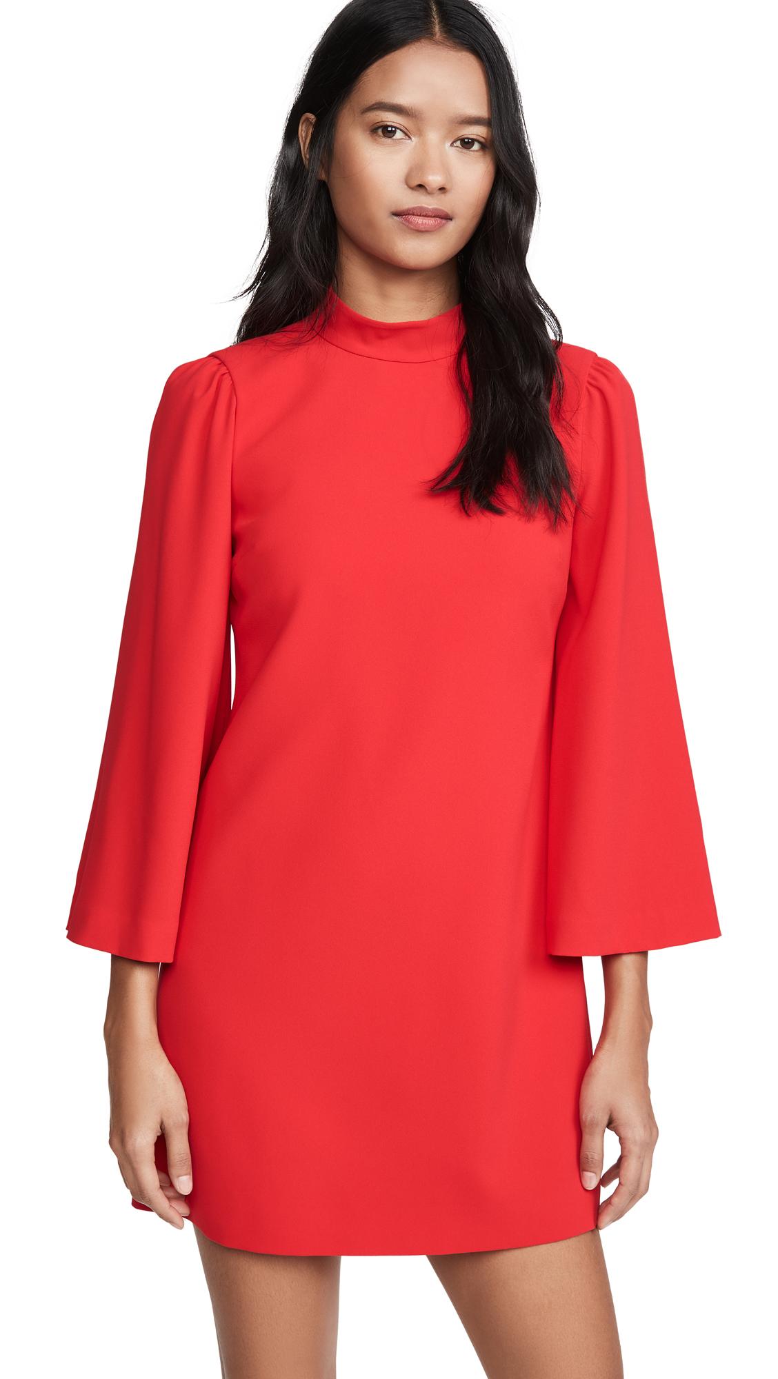 Buy alice + olivia online - photo of alice + olivia Bailey Bell Sleeve Dress
