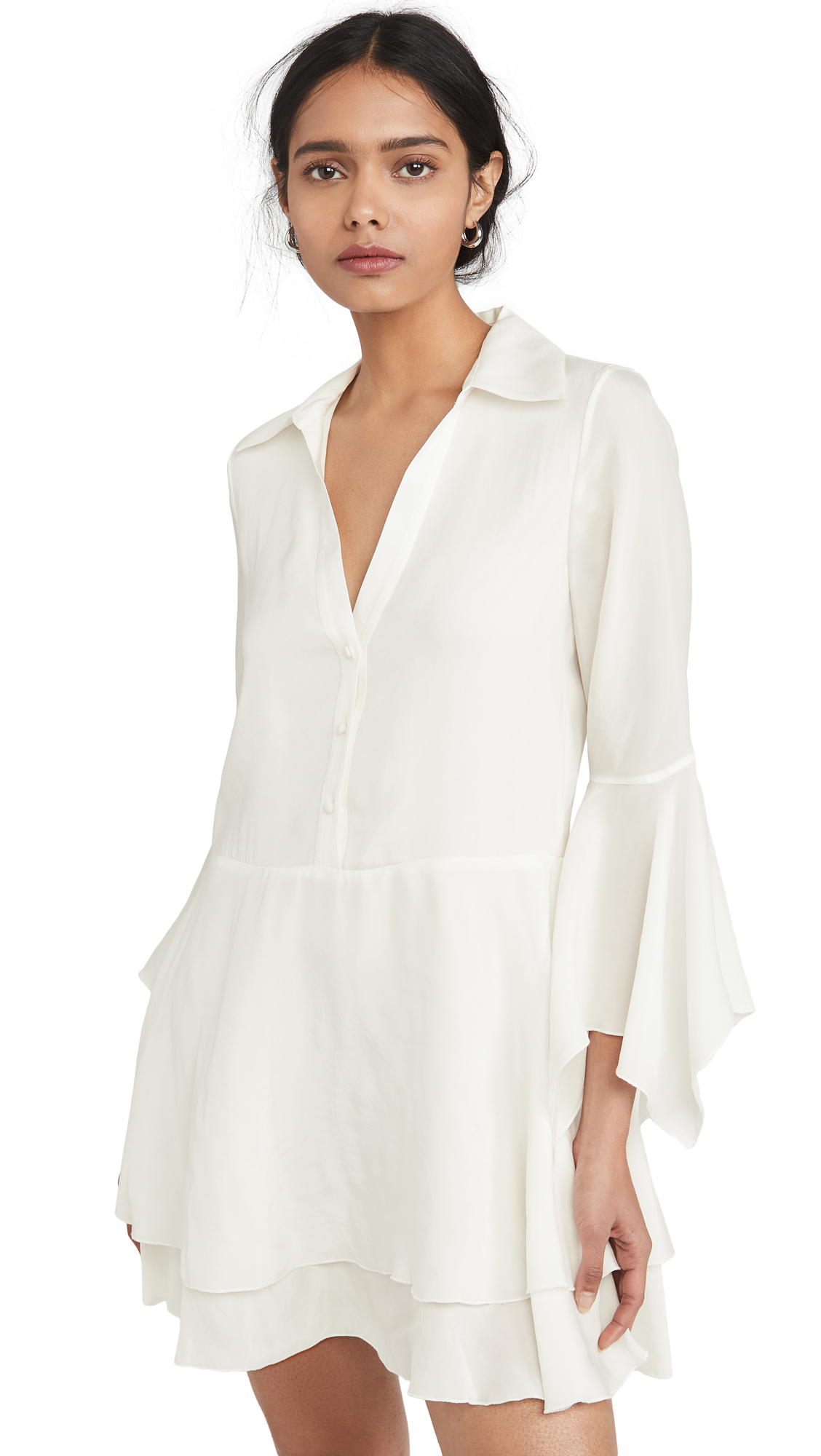 alice + olivia Priscilla Button Down Shirt Dress – 50% Off Sale