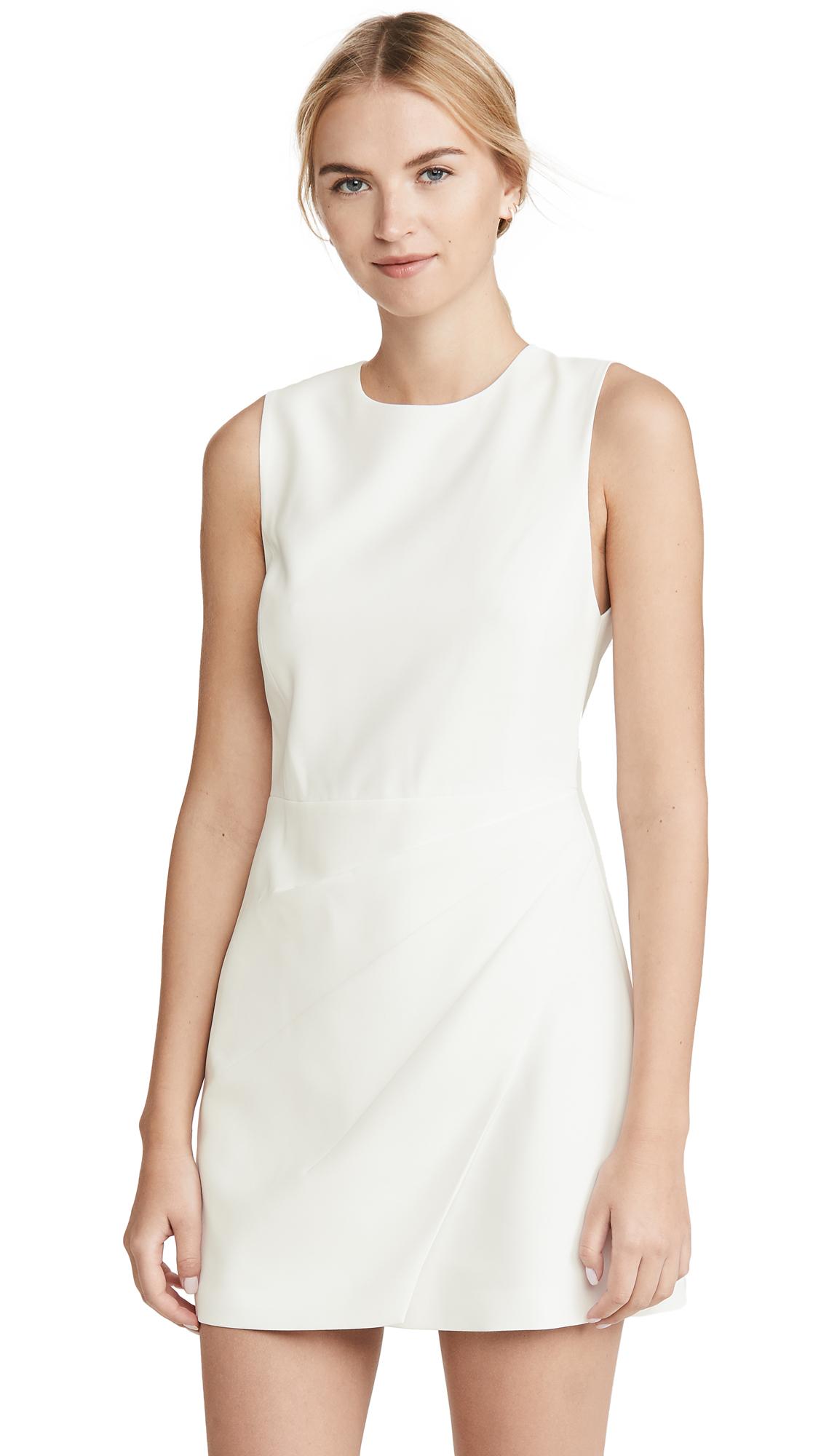 alice + olivia Kelsey Asymmetric Drape Dress - 35% Off Sale