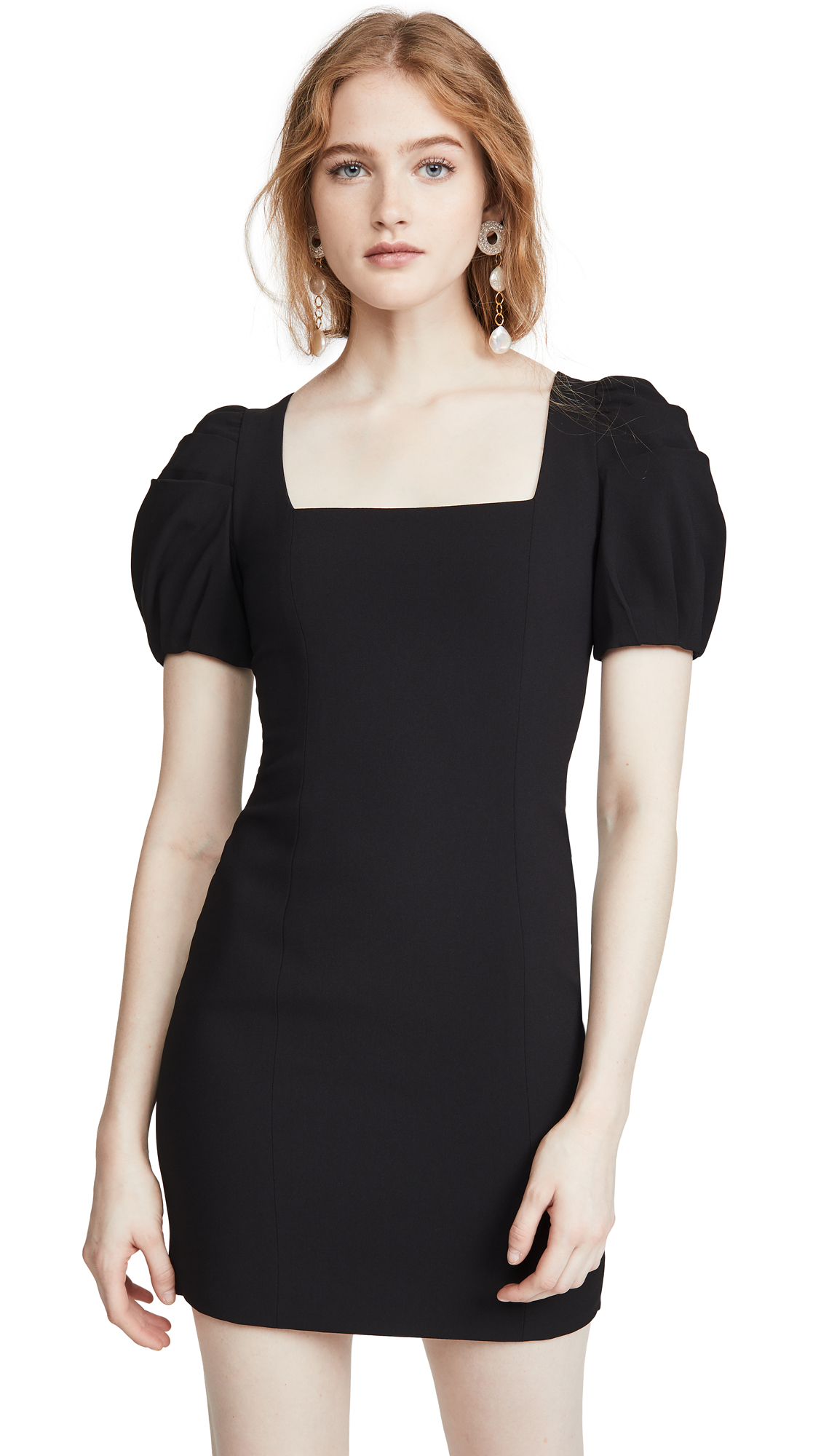 Buy alice + olivia online - photo of alice + olivia Rachel Puff Sleeve Mini Dress