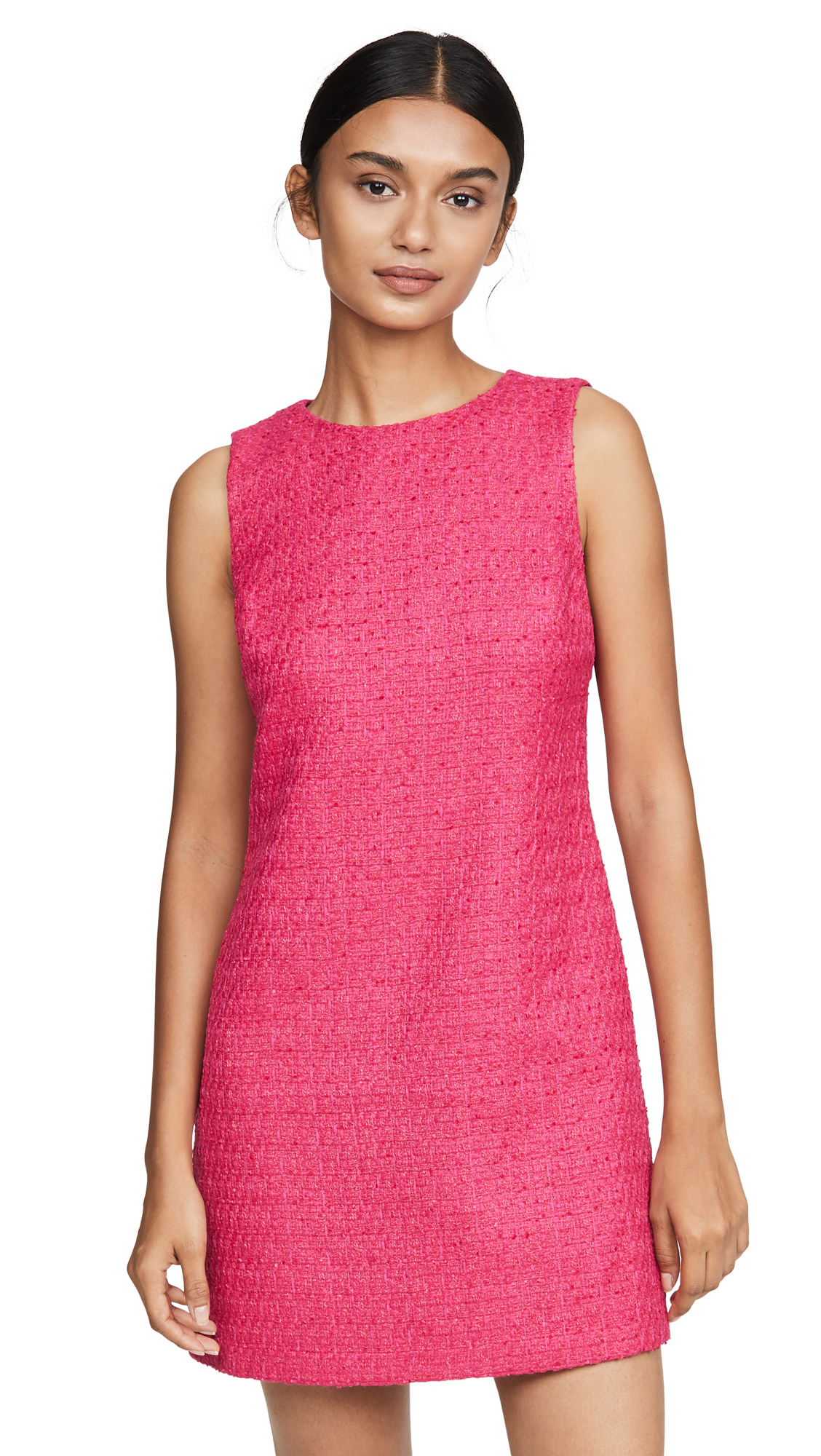 alice + olivia Clyde A-Line Shift Dress - Bright Pink
