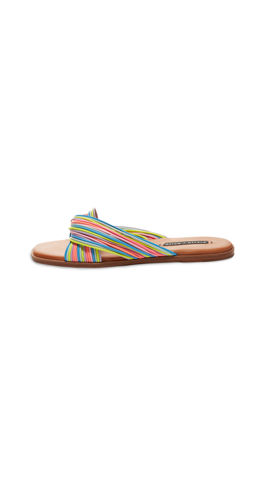 Buy alice + olivia Coree Slides online, shop alice + olivia