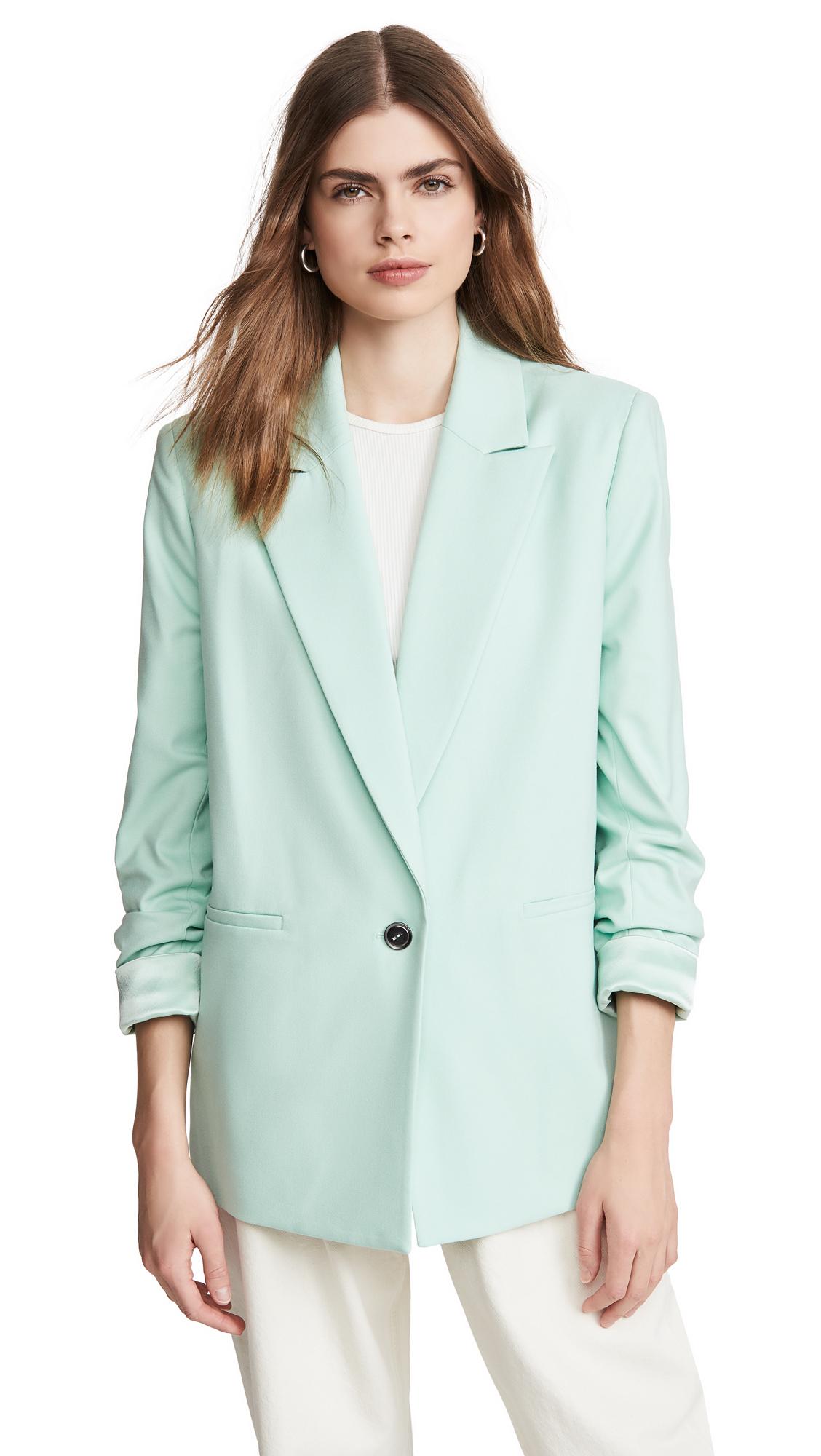 alice + olivia Denny Notch Collar Blazer