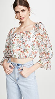alice + olivia Deb 方领女式衬衫