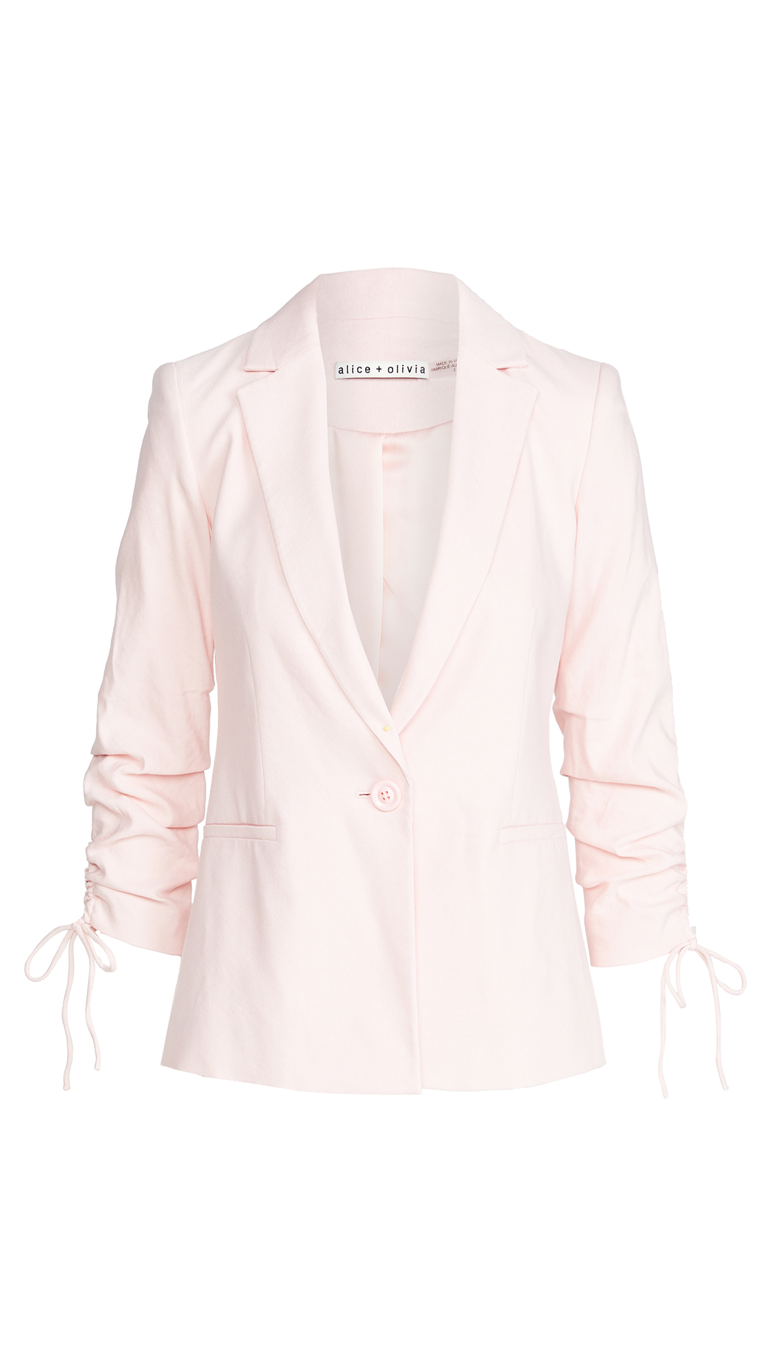 Alice And Olivia LESTER NOTCH COLLAR BLAZER