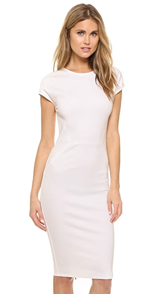 Ali & Jay Zip Back Ponte Sheath Dress