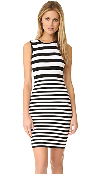Ali & Jay Textured Stripe Dress
