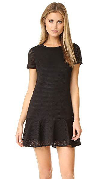 Ali & Jay Textured Knit Shift Dress