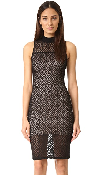 Ali & Jay Scallop Lace Dress