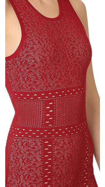 Ali & Jay Sleeveless Lace Sweater Dress