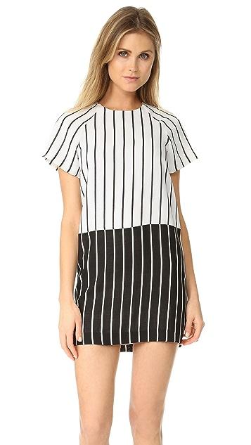 Ali & Jay Blocked Striped Dress