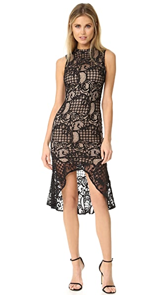 Ali & Jay Lace Sheath Dress with Flared Hem