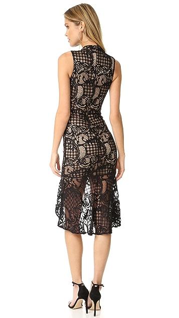 Ali & Jay Lace Sheath Dress with Flared Hem
