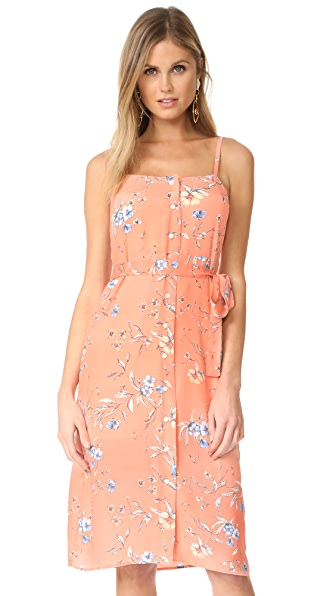 Ali & Jay Flower Frolicking Dress In Desert Sunset Floral