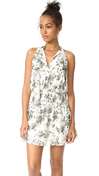 Ali & Jay Cabana Cafe Mini Dress In Green Dream Floral