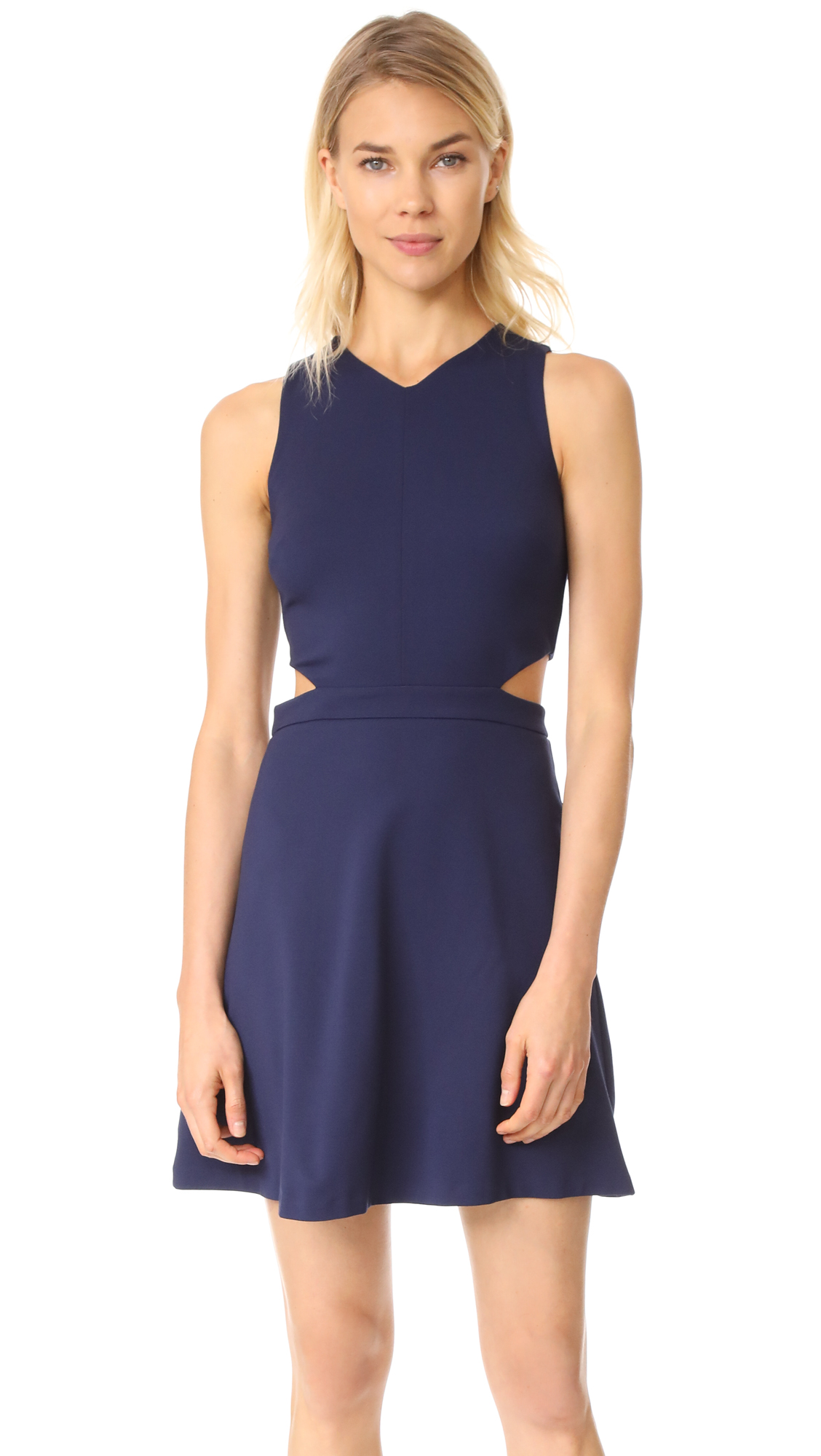 Ali & Jay Making Waves Mini Dress - Navy