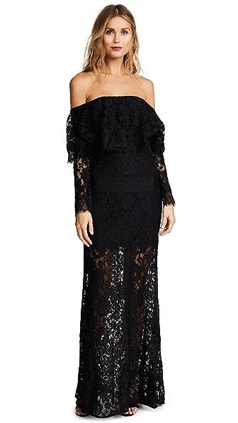 Ali & Jay Soiree Gown In Black