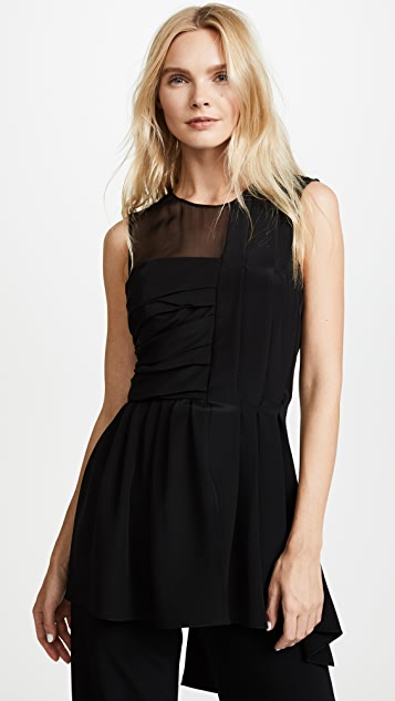 Adam Lippes Pleated Top