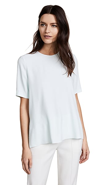 Adam Lippes Short Sleeve Crepe T-shirt at Shopbop