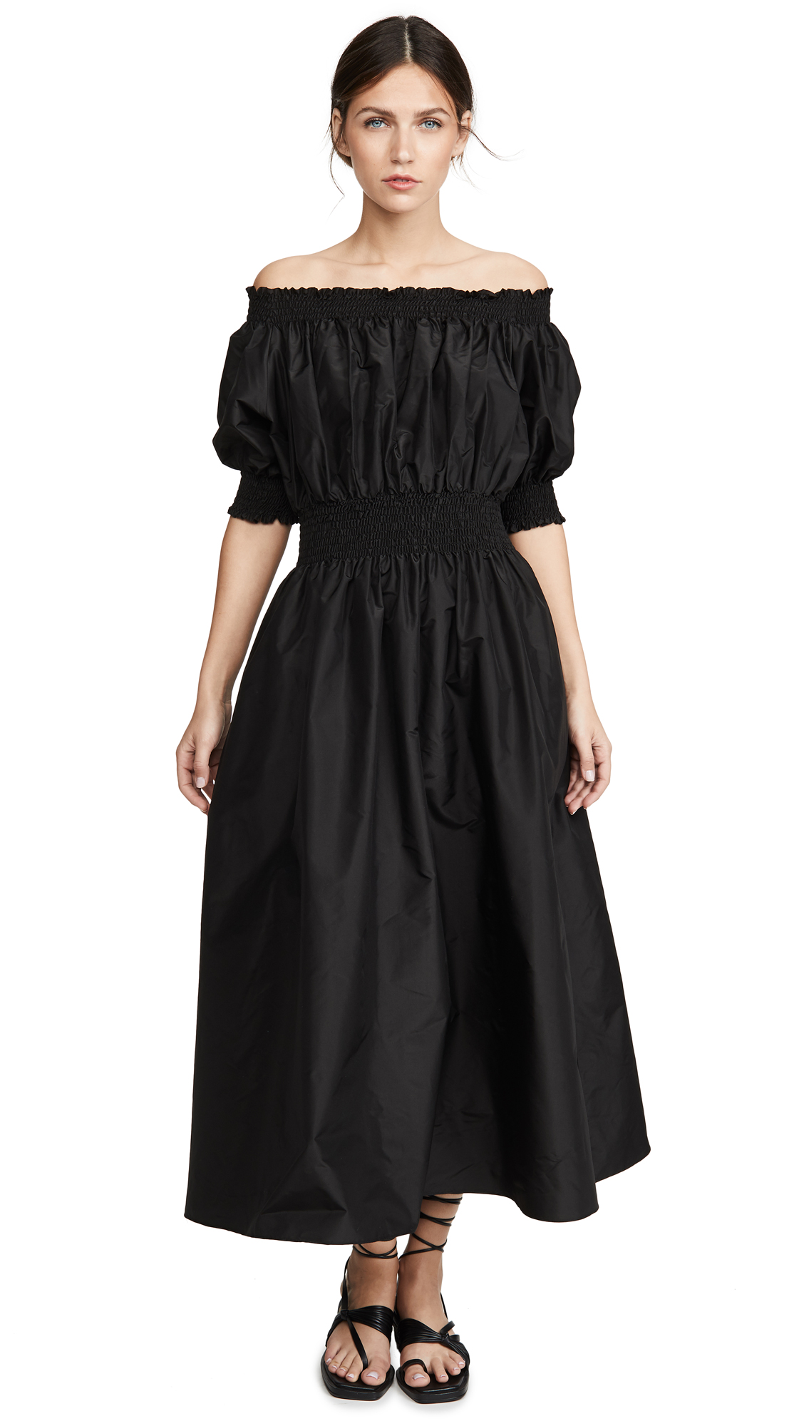 Buy Adam Lippes Taffeta Smocked Dress online beautiful Adam Lippes Dresses, Strapless