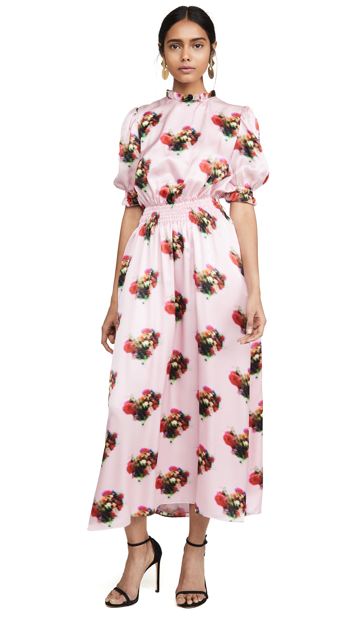 Buy Adam Lippes Floral Smocked Dress online beautiful Adam Lippes Dresses, Strapless