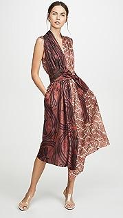 Adam Lippes Asymmetrical Dress