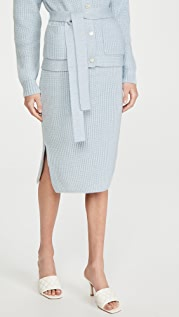 Adam Lippes Knit Pencil Skirt
