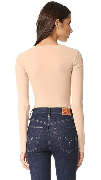 Alix Leroy Skin Thong Bodysuit