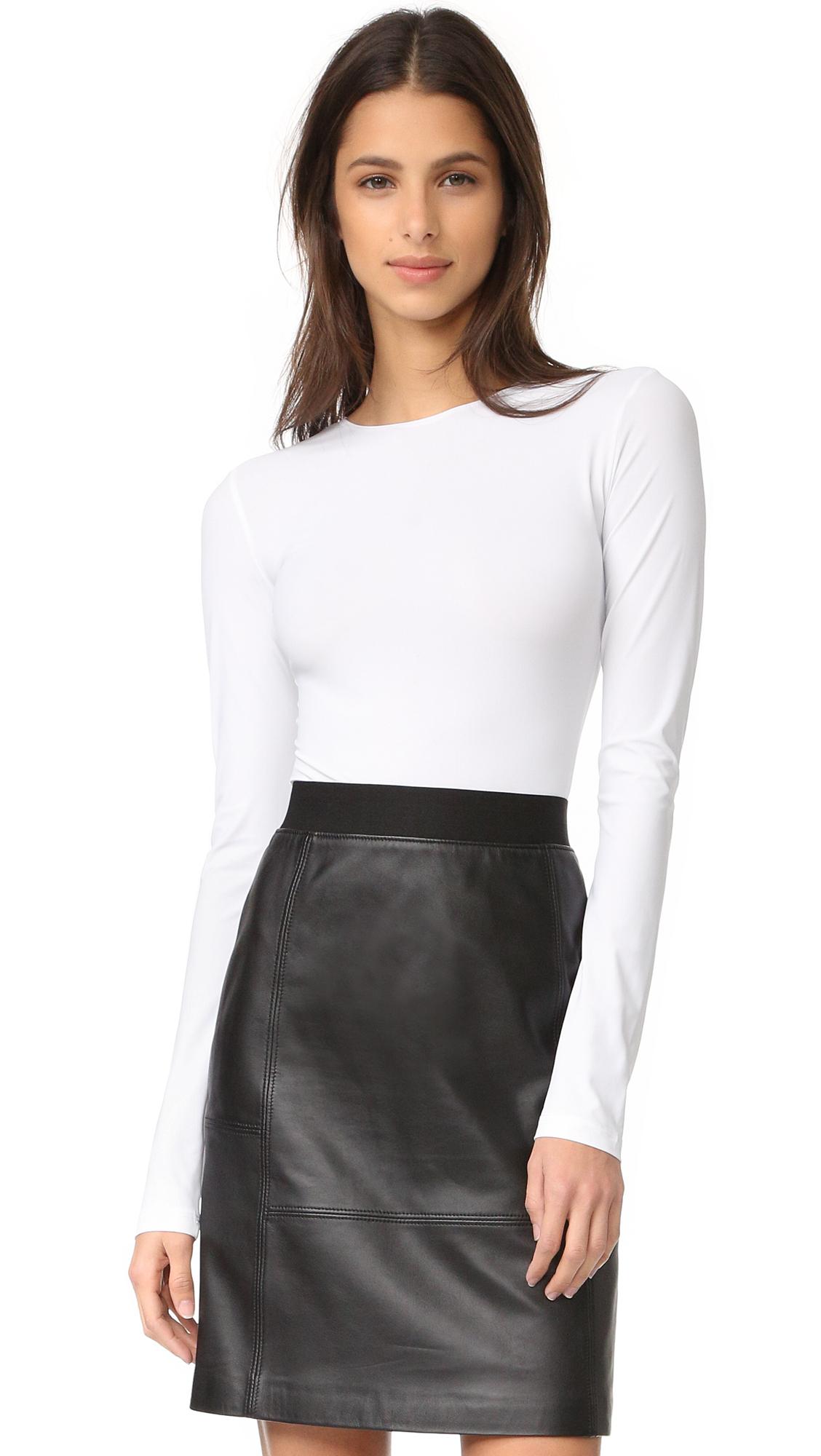 Alix Leroy Skin Thong Bodysuit - White at Shopbop