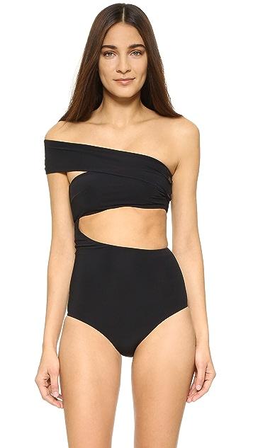 Alix Shelborne One Piece Swimsuit